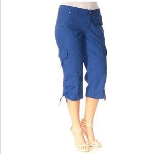 INC blue Capri pants